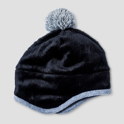 Baby Boys' Igloos Butter Pile Peruvian Hat Anthracite 12M-24M