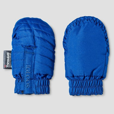 Baby Boys' Igloos Quilted Ski Mittens Limoges 12M-24M