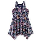 Girls' Lace Hankie Hem Dress Blue XS -  Xhilaration™