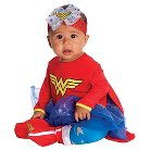 Toddler Wonder Woman Onesie Infant Costume - 0-6 MONTHS