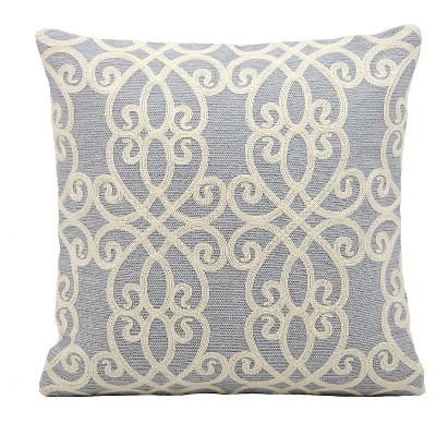 "Romance Throw Pillow Blue (18""x18"") - Mina Victory"
