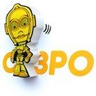 3D Light FX Mini Nightlight C-3PO