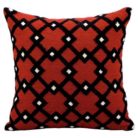 Black Diamond Throw Pillows : Black Diamonds Throw Pillow - Nourison : Target