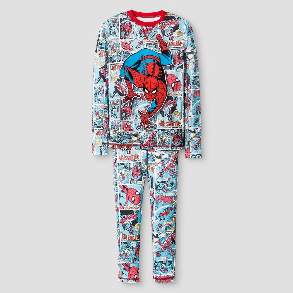 Boys' Spider-Man Thermal Underwear Set - Multicolor XS, Boy's, Multi-Colored