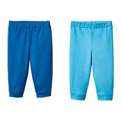 Lamaze Baby Boys' Organic 2 Pack Pant Set - Blue