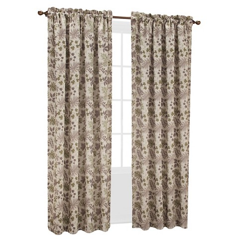 Sun Zero Woodland Printed Room Darkening Curtain Target