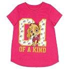 Girls' PAW Patrol T-Shirt - Hot Pink S