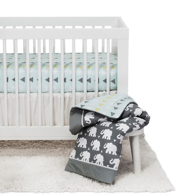 Pam Grace Creations Indie Elephant Crib Bedding Set