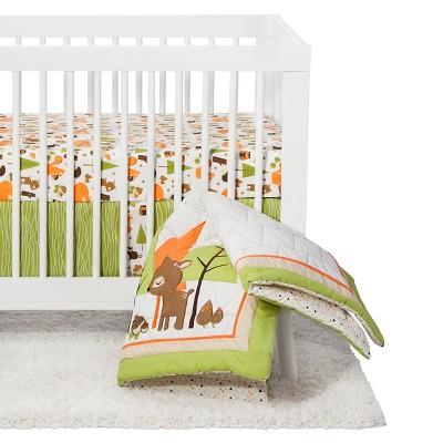 Crib Bedding Set Pam Grace Green