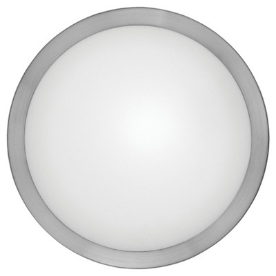"Arezzo Wall/Ceiling Light 11"" Diameter Matte Nickel - Eglo"