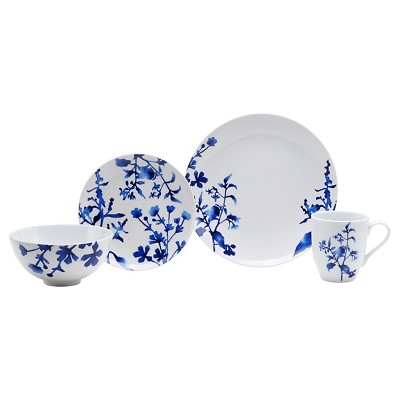 Oneida Tranquility Blue 16-pc. Dinnerware Set
