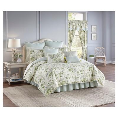 Fleuretta Comforter Set Queen Multicolor 3 Piece - Waverly®