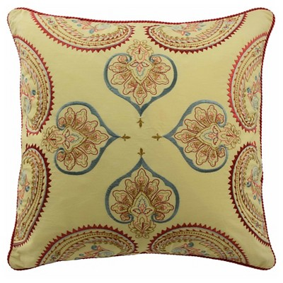 "Swept Away Decorative Pillow 18""X18"" Multicolor - Waverly®"