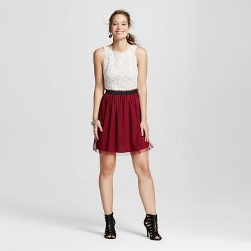 Womens Dark Red Dress : Target