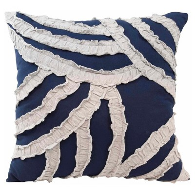 "Cersei Decorative Pillow 16""X16"" Navy - Vue®"