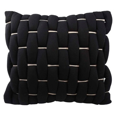"Cersei Decorative Pillow 18""X18"" Black - Vue®"