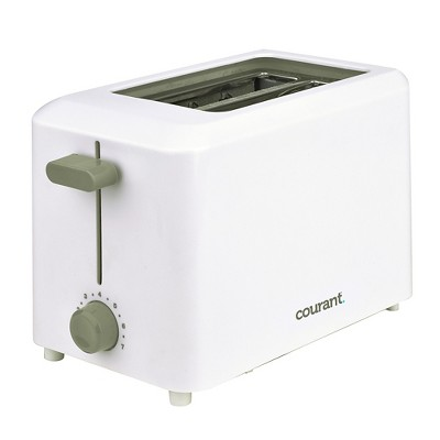 Courant 2-Slice Toaster - White