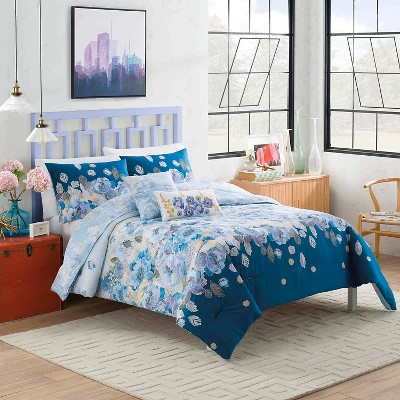 Dharma Comforter Set (Twin Extra Long) Multicolored 4pc - Vue®