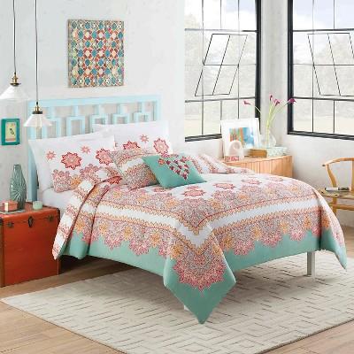 Mantra Comforter Set (Full/Queen) Multicolored 5pc - Vue®