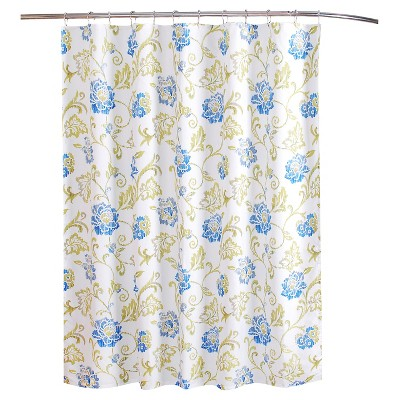 "Refresh Shower Curtain Blue/Green (72""x72"") - Waverly"