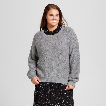 Women's Plus Size Boucle Sweater - Who What Wear™
