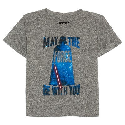 Star Wars Baby Boys' Darth Vader T-Shirt 12M - Grey