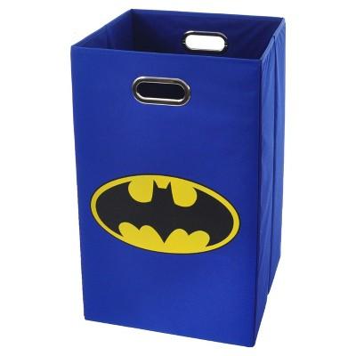 Logo Folding Laundry Basket Blue - Batman®