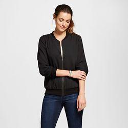 Women's Bomber Jacket Green M - Who What Wear™ : Target