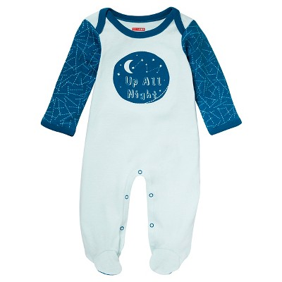 Skip Hop Baby Bodysuit - 'Up All Night' NB