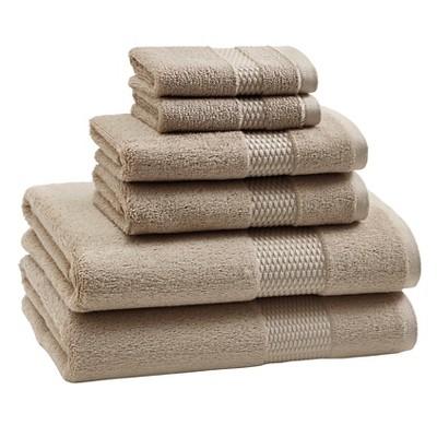 Aria Bath Towel Set Pumice - Kassatex