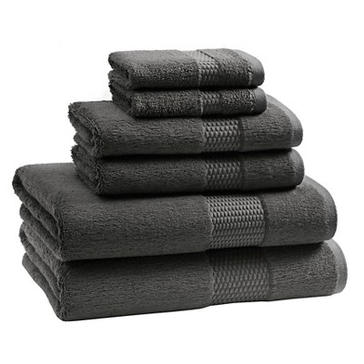 Aria Bath Towel Set Storm Grey - Kassatex