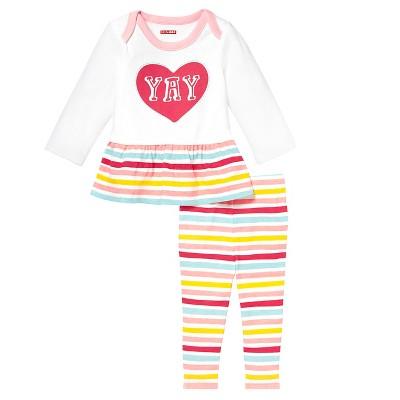 Skip Hop Baby Long Sleeve Tunic & Legging Set - 'Yay' NB