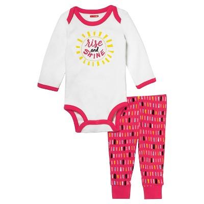 Skip Hop Baby Long Sleeve Bodysuit & Pant Set - 'Rise & Shine' 3M