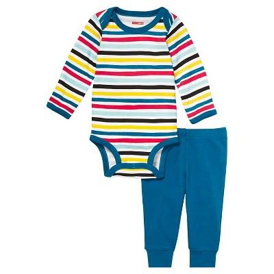 Skip Hop Baby Long Sleeve Bodysuit & Pant Set - Stripes 3M
