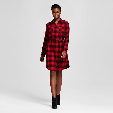 Women's Plaid Shirt Dress - Merona™