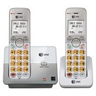 AT&T Handset Cordless Phone System with Caller ID-Call Waiting- Silver (EL51203)