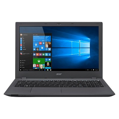 "Acer Aspire E 15, 15.6"" HD, Intel Core i3, 6GB DDR3L, 1TB HDD, Windows 10 Home, E5-573-378G - Black (Acer Aspir)"