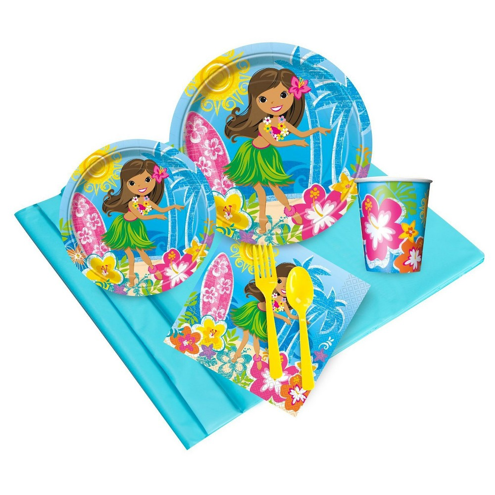 Luau Snack Pack Party Kit, Multi-Colored