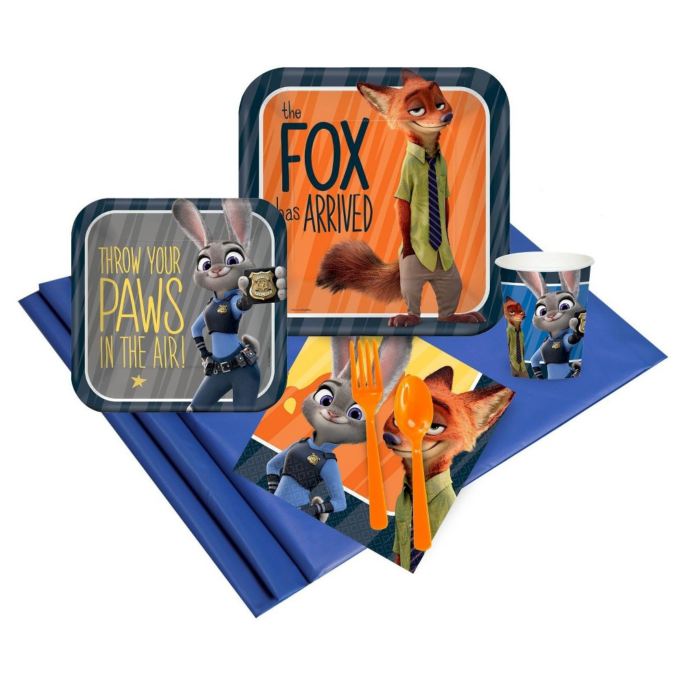 Zootopia Party Pack Party Kit, Multi-Colored