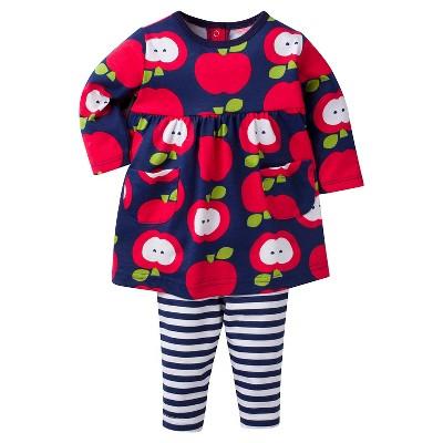 Baby Girls' Apple Dress with Leggings Set 12m - Gerber®