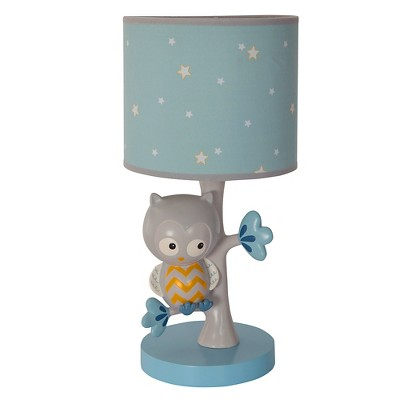 Happi by Dena™ Night Owl Lamp with Shade & Bulb by Lambs & Ivy®
