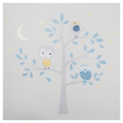 Happi by Dena™ Night Owl Wall Appliques by Lambs & Ivy®