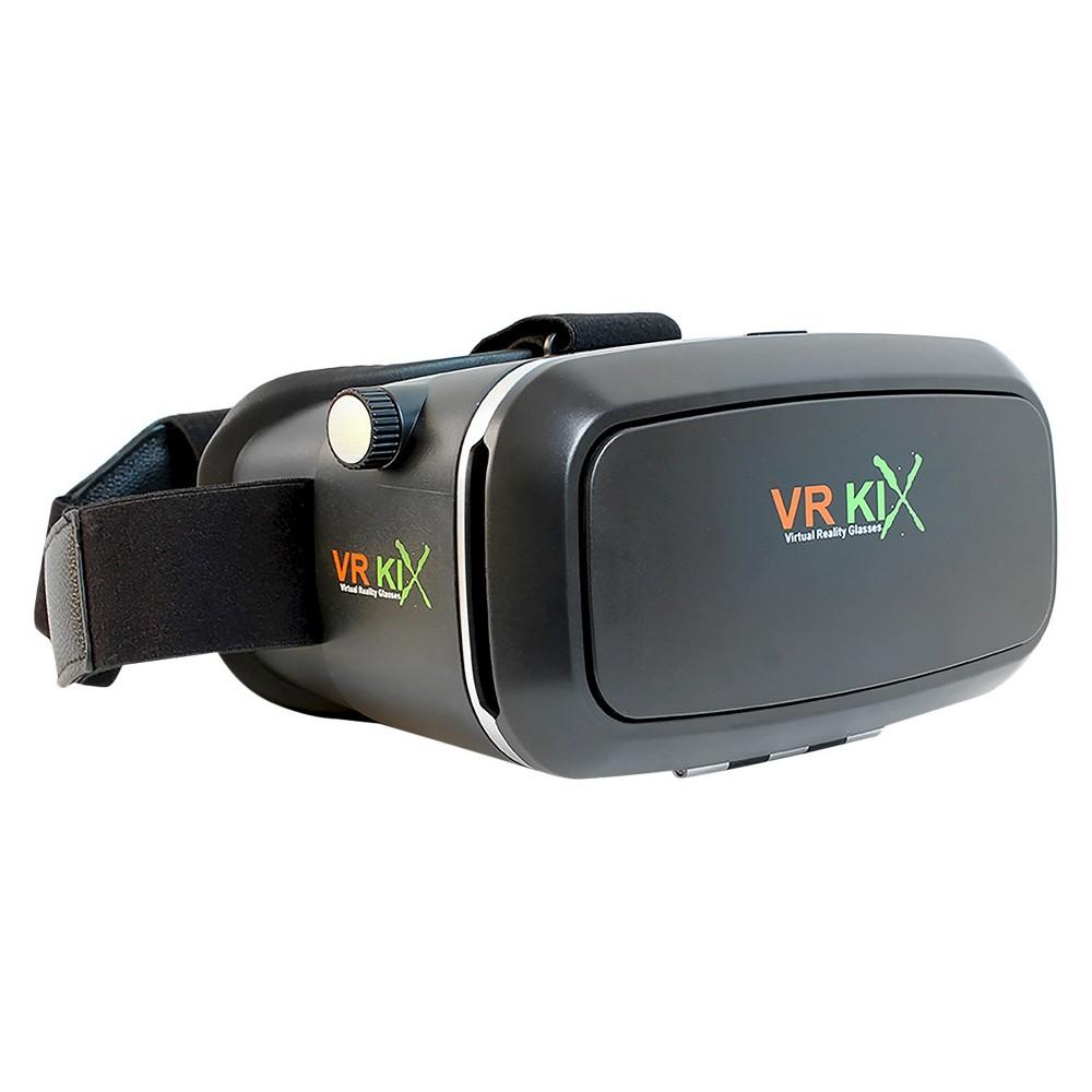 VR Kix Virtual Reality Headset, Black