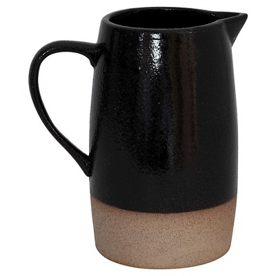 3R Studios 42oz Stoneware Pitcher - Black