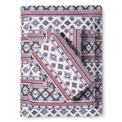 Knit Cotton Flannel Sheet Set (King) Grey - Elite Home®