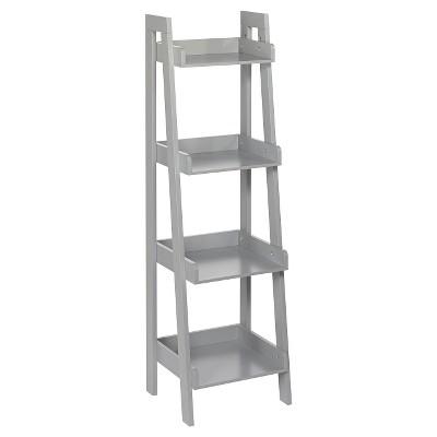 RiverRidge® 4-Tier Ladder Shelf - Gray