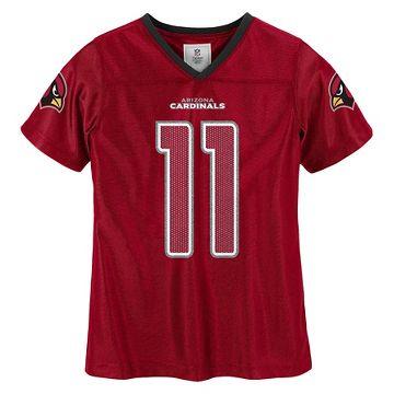 Arizona Cardinals Pink Mesh Dog Jersey