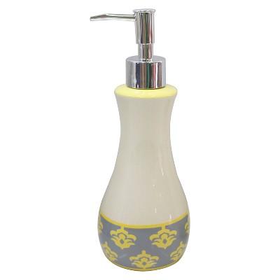 Luminary Lotion/Soap Dispenser Gray - Waverly