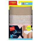 Hanes® X-Temp Women's Hipster Bonus 3+1 Pack - Colors May Vary