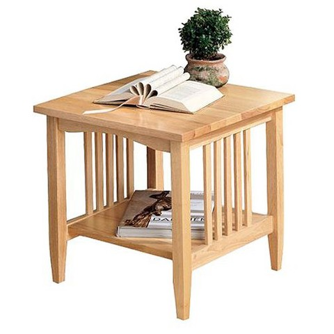 Linon Mission Natural End Table